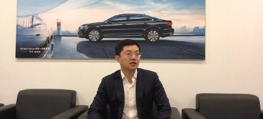 2018广州车展专访上汽大众华南销售总经理黎志荣
